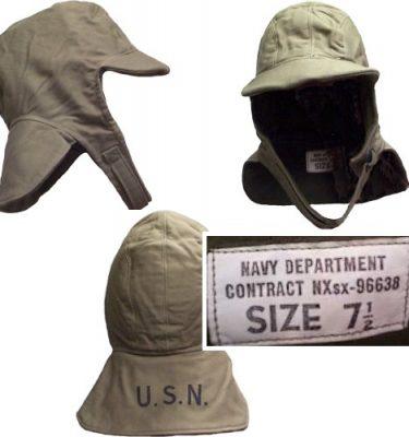 ww2 us navy military surplus flight deck hat