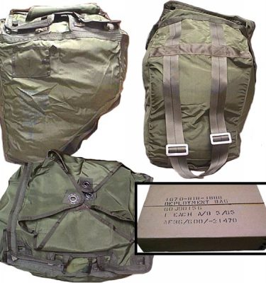 Parachute Deployment Bag