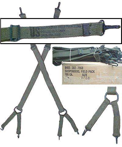 Usmc Vietnam Era M1941 Suspenders