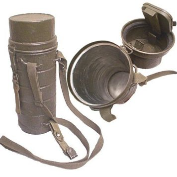 German Gas Mask Can
