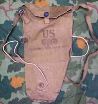 U.S. WW2 Gas Mask Bags