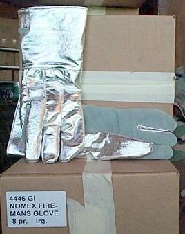 Nomex Firefighter's Gloves