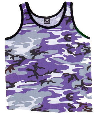 Tank Top Camoflage Purple Camo