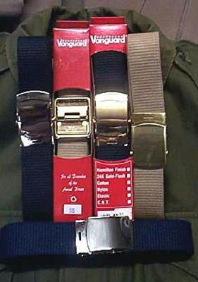 Military Dress Belt