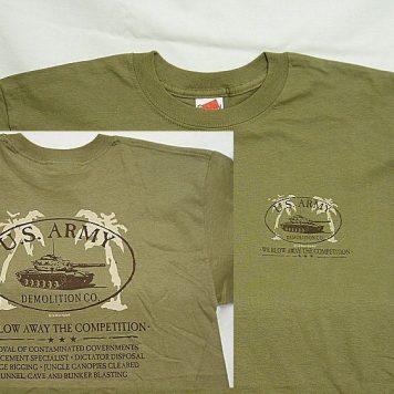 T-shirt, Army Demolition Co