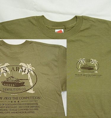 T-shirt, Army Demolition Co