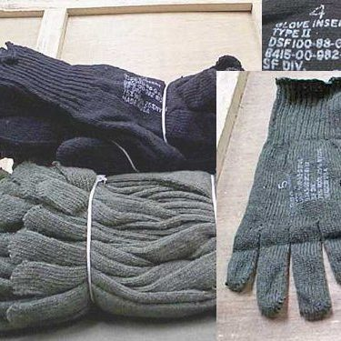 D3-a Wool Glove Liners