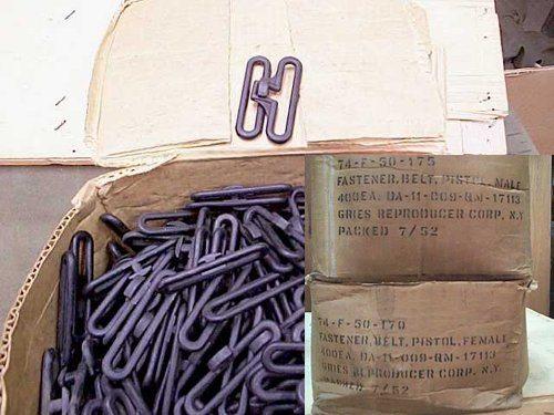 WW2 Utility Belt Fasteners