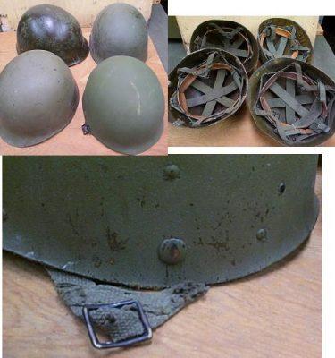 Paratrooper Helmet Liner Used