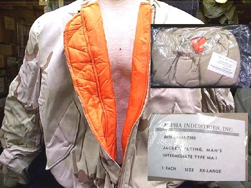 Alpha Desert Flight Jacket