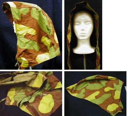 Italian Camo Field Jacket  Hood