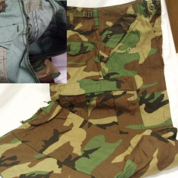M-65 Camo Field Trousers, New