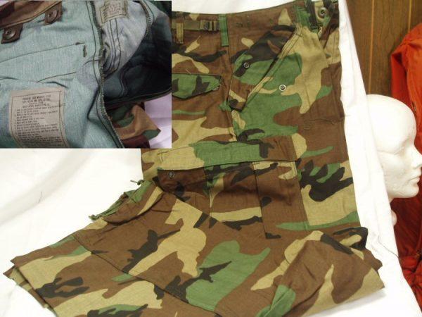M-65 Camo Field Trousers, New