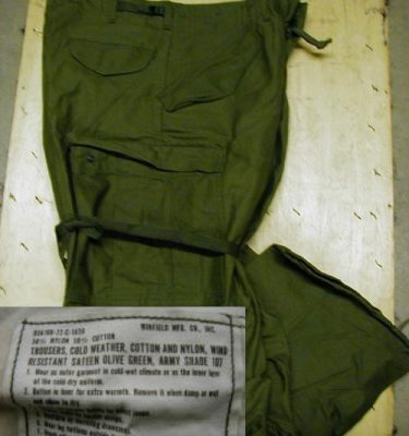 M-65 Field Trousers O.d., Used