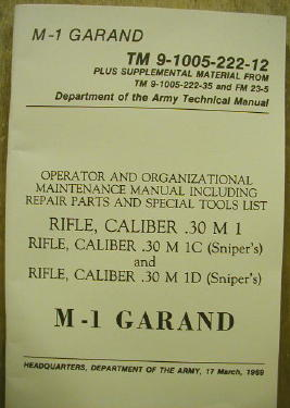 M-1 Garand Manual