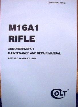 M16a1 Rifle Manual