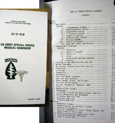 Special Forces Medical Handbook