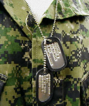 Military Dog Tags All The Way
