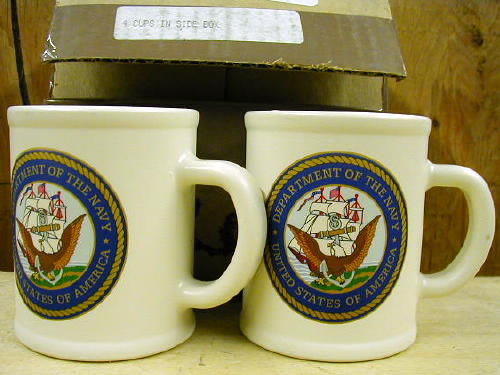 Us Navy Coffee Cup