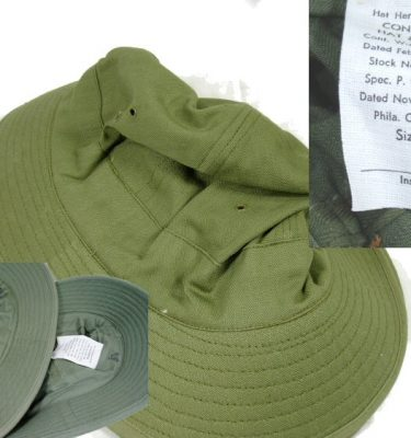 WW2 Hbt Hat New, 6 5/8