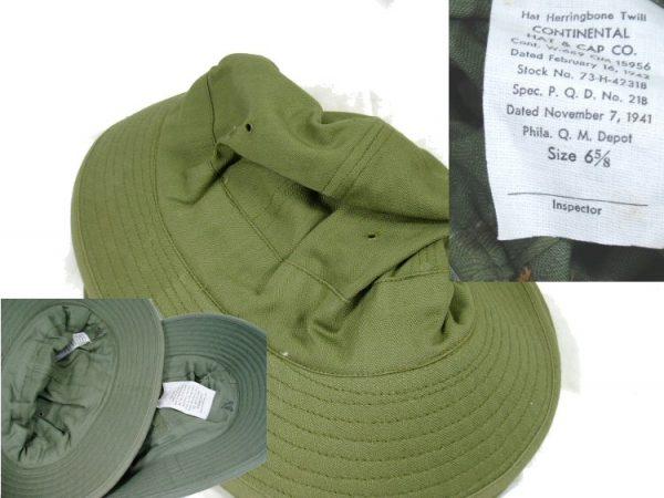 WW2 Hbt Hat New, 6 5/8