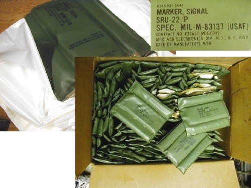 Signal Marker Sru-22/p, Vietnam Dated