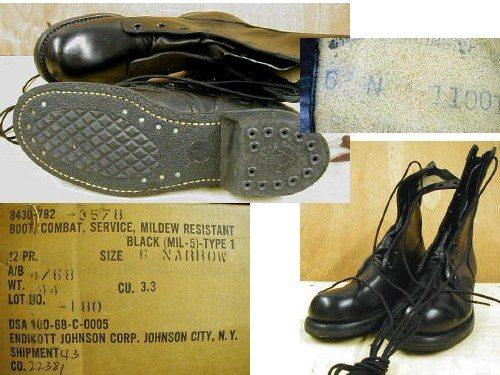 Vietnam Combat Boots, 6n