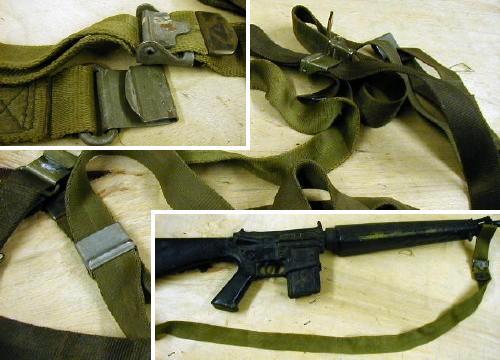 M-1 Garand M14 M16 Rifle Sling Rough