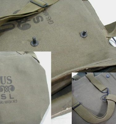 M-9 Gas Mask Bag