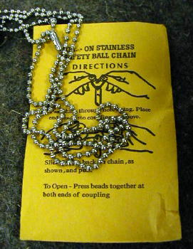 Dog Tag Chain Set