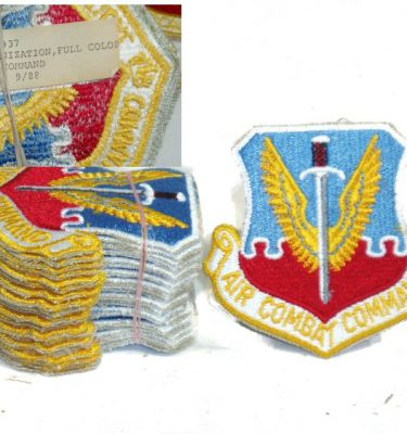 Patch, Air Combat Command