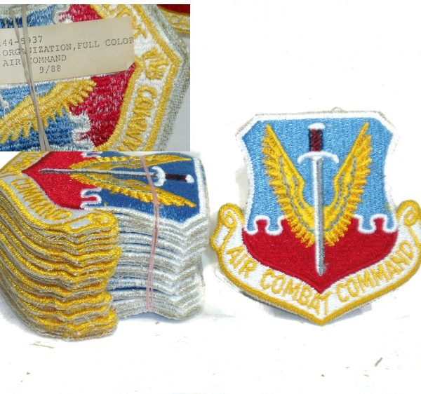 Patch, Air Combat Command