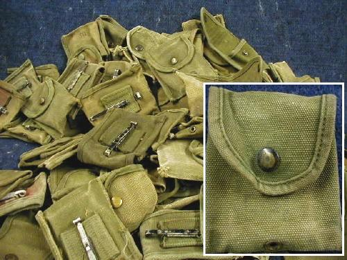Vietnam Compass 1st Aid Pouch-used