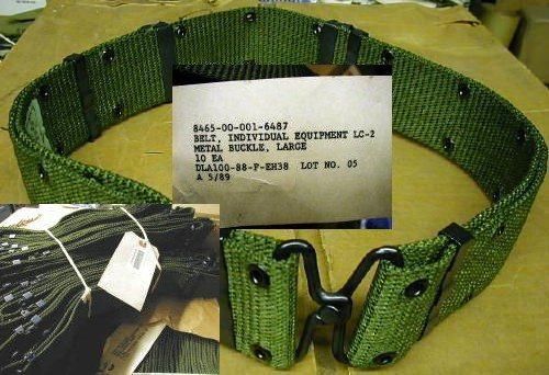 LC-2 Pistol Belt Nylon Metal, Lg