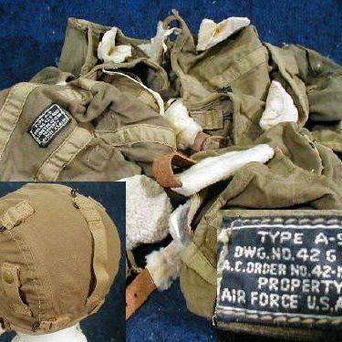 WW2 Flight Cap, Type A-9