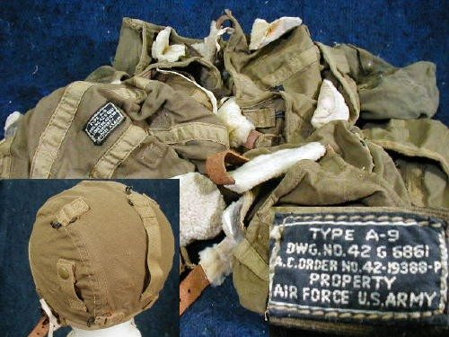 WW2 Flight Cap, Type A-9