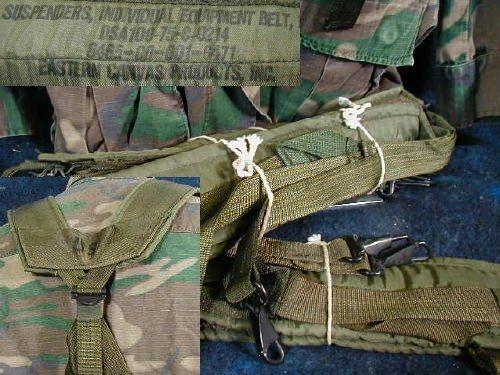 Vietnam Lc-1 Combat Suspenders