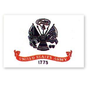 Flag Army Crest 3' X 5'