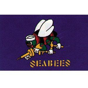 Flag Seabees 3' X 5'