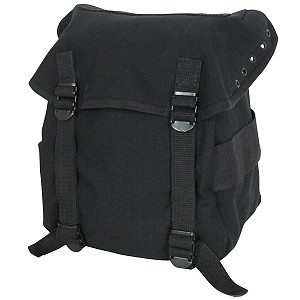 Canvas Buttpack Black