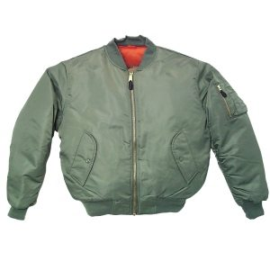 Youth Ma1 Flight Jacket Green
