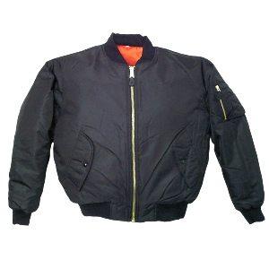 Youth Ma1 Flight Jacket, Black
