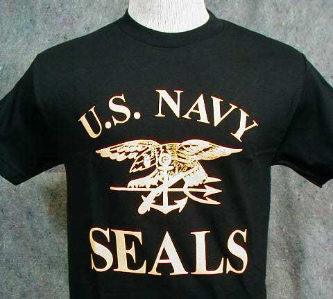 Navy Seals, Blk w/ Lg Gold Emblem
