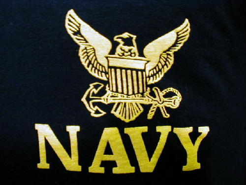 Navy T-shirt Black, Small Logo