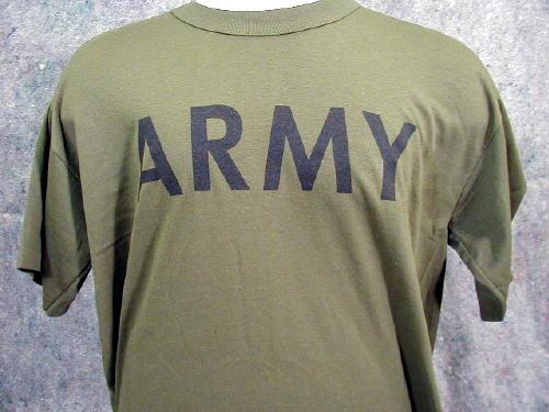 Army T-shirt, Olive Drab PT