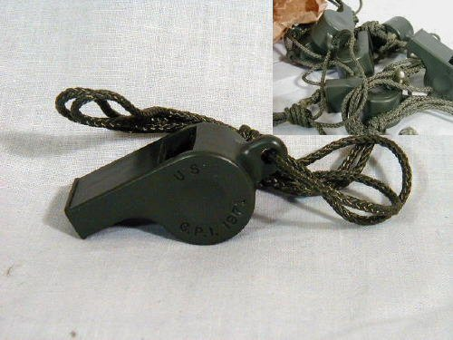 Military Style Whistle