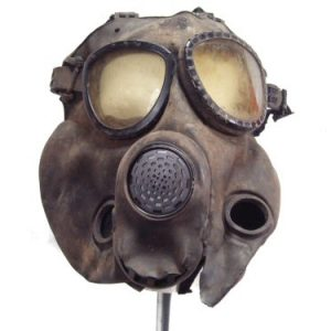 M17 Gas Mask, Used And Abused