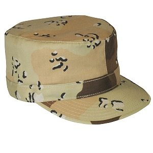 BDU Cap Army, 6 Color Desert-Twill