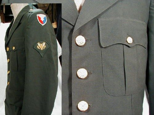 Army Dress Coat Class A Used