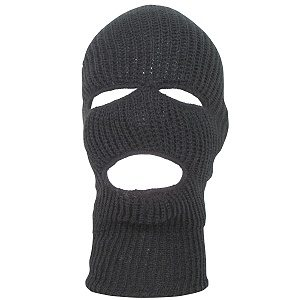 Ski Mask Black, Acrylic